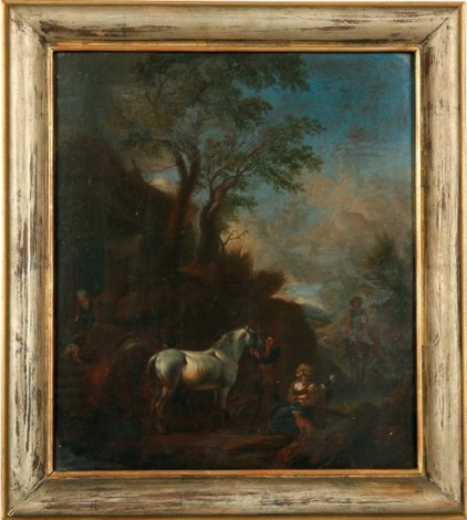 le cheval blanc by philips wouwerman
