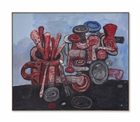 poised by philip guston