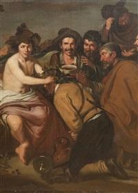 bacchus by diego rodríguez de silva y velásquez