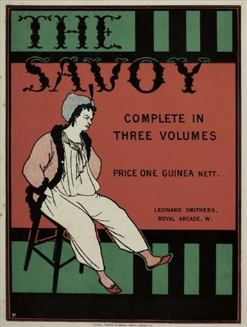 the savoy by aubrey vincent beardsley