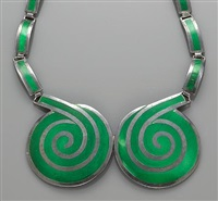 spiral necklace by margot de taxco