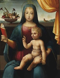 vierge à l'enfant by andrea piccinelli
