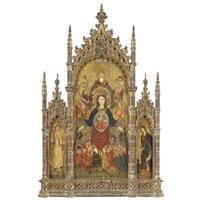 madonna della misericordia (trittico) by flemish school (15)