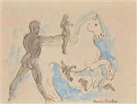 le cheval blanc by francis picabia