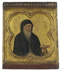 saint anthony abbot by pietro lorenzetti