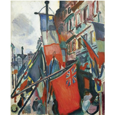 Le Havre 14 Juillet By Raoul Dufy On Artnet