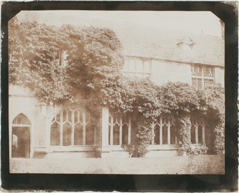 the cloisters of lacock abbey wiltshire pl16 from the pencil of nature by william henry fox talbot