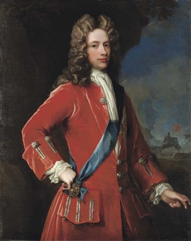 portrait of john, 2nd duke of argyll and 1st duke of greenwich by william aikman