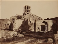 saint-honorat des alyscamps, arles by charles nègre