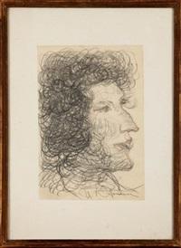 kobieta z profilu by umberto vittorini