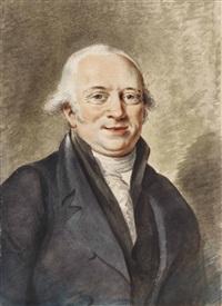 portrait of cornelis sebille roos (1753-1819) by adriaen de lelie