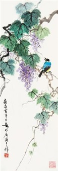 葡枝翠羽 by huang huanwu