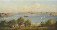 sydney harbour by john allcott