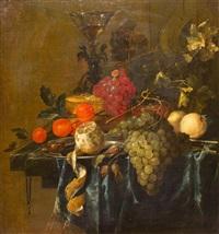 still life with fruit by jan davidsz de heem
