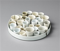 pots (set of 31) by chun liao