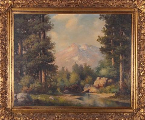 in the rockies by robert william wood