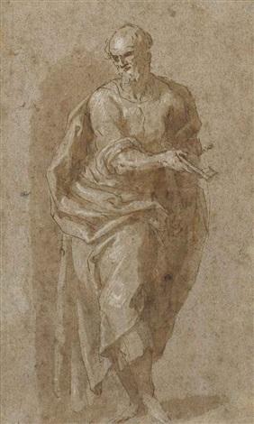 saint peter by jacopo palma il giovane
