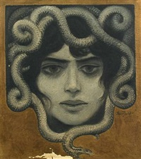 medusa by paul gustave fischer