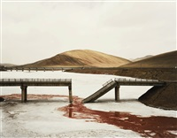 qinghai province ii (fallen bridge) by nadav kander