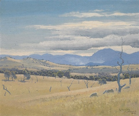 landscape federal territory by elioth gruner