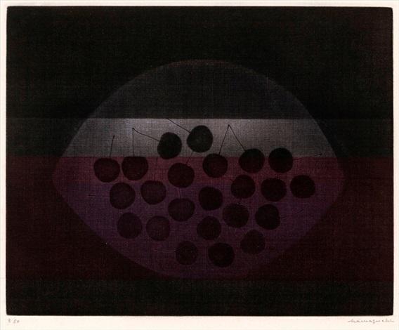 black cherries by yozo hamaguchi