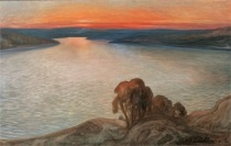 nordisk sommarnatt by axel zachrison