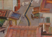 from the balcony by roy de maistre