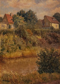 riverside cottages by kalman kemeny