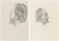 working face (+ self-contained iii, lrgr; 2 works) by michael landy