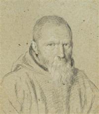 portrait d'homme barbu by ottavio maria leoni