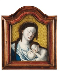 vierge à l'enfant by flemish school-bruges (16)