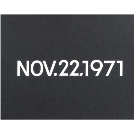 nov 22 by on kawara