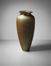 vase by jean dunand