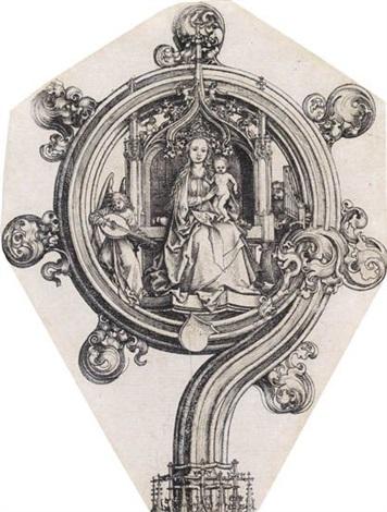 a bishops crozier by martin schongauer