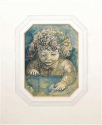 portrait of linden douglas by john de burgh perceval