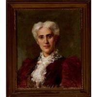 portrait of mrs. dominick edward blake by edmund wyly (sir) grier