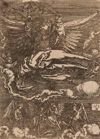 la sainte face tenue par un ange by albrecht dürer