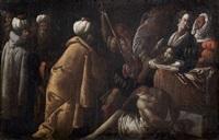 la décollation de saint jean-baptiste by giovanni andrea (il mastelletta) donducci