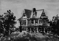 gothic house by frederick e. albrecht