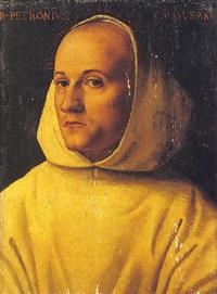 portrait d'un chartreux by amico aspertini