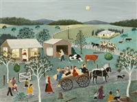 the hayride by roma higgins