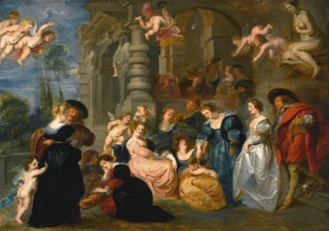 the garden of love by sir peter paul rubens