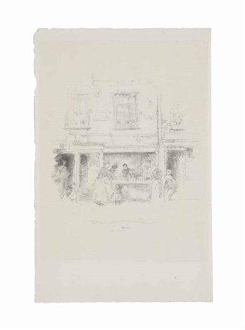 maunders fish shop chelsea by james abbott mcneill whistler