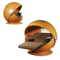 sunball: a rare garden seat by herbert selldorf