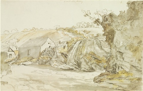 a mill near bantry county cork by william ashford