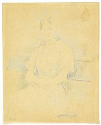 portrait de mademoiselle alice gamby by berthe morisot