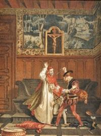 l'assasinat par cesare borgia d'un favori de son père by alexandre bida