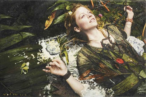 untitled priscilla in ecstasy by yigal ozeri