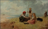 children with the catch by john burr