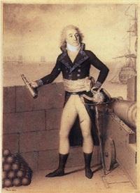 portrait en peid du général comte etienne de roquesante by hilaire le dru